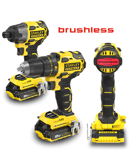 GAMA BRUSHLESS 18V FATMAX®
